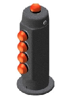 Cyber-Tech joystick handle 301-RB