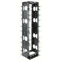 Middle Atlantic cable management rack MK